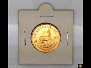 1980 Half Krugerrand. Half oz Fine Gold - Bullion Coin. Springbok walking right. Bust of Paul Kruger. Reeded edge. (Please note that email offers are considered on all coins.)
