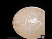 Five ounces. 1993 calendar medallion. Perth Mint. (Please note that email offers are considered on all coins.) (*)