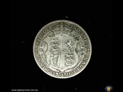 Half Crown. Crowned coat of arms. George V. Reeded edge. (Please note that email offers are considered on all coins.) (*)
