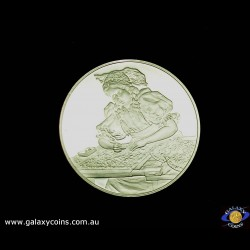 Czechoslovakian Folk Costumes Official Commemorative Issue medallion. (Please note that email offers are considered on all coins.) (*)