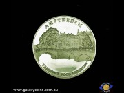 Amsterdam's 700th anniversary. Official Commemorative Issue medallion. (Please note that email offers are considered on all coins.) (*)