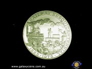 Railway Sesquicentennial 1825-1875. Official Commemorative Issue medallion. (Please note that email offers are considered on all coins.) (*)