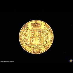 1842 Sovereign. Crowned Shield. Young Queen Victoria. (Please note that email offers are considered on all coins.) (*)