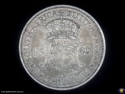 2 & Half Shillings. Crowned shield divides date. George VI. (Please note that email offers are considered on all coins.) (*)